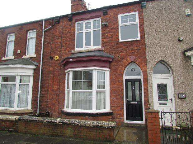 3 Bedrooms Terraced House for sale in COLLINGWOOD ROAD, HART LANE, HARTLEPOOL