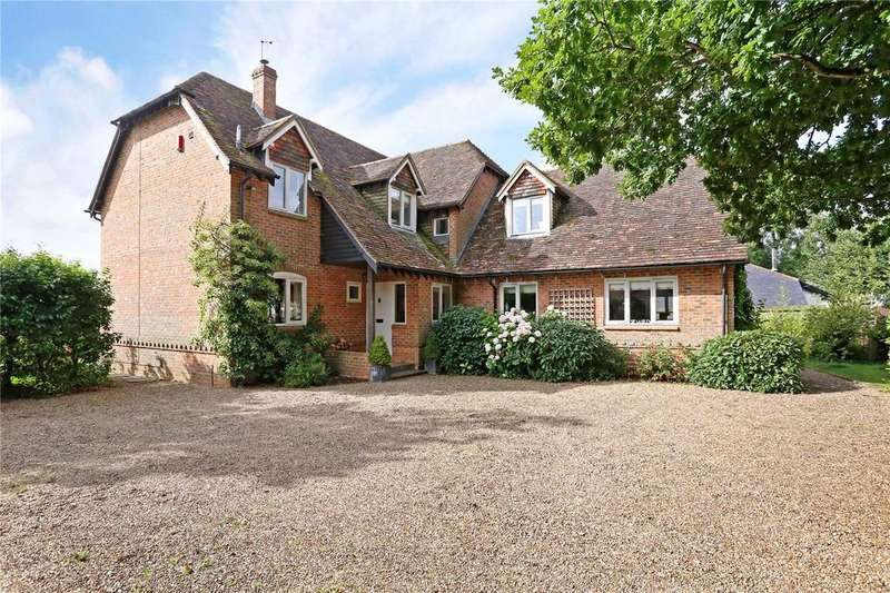 4 Bedrooms Detached House for sale in Cleves Lane, Upton Grey, Basingstoke, Hampshire