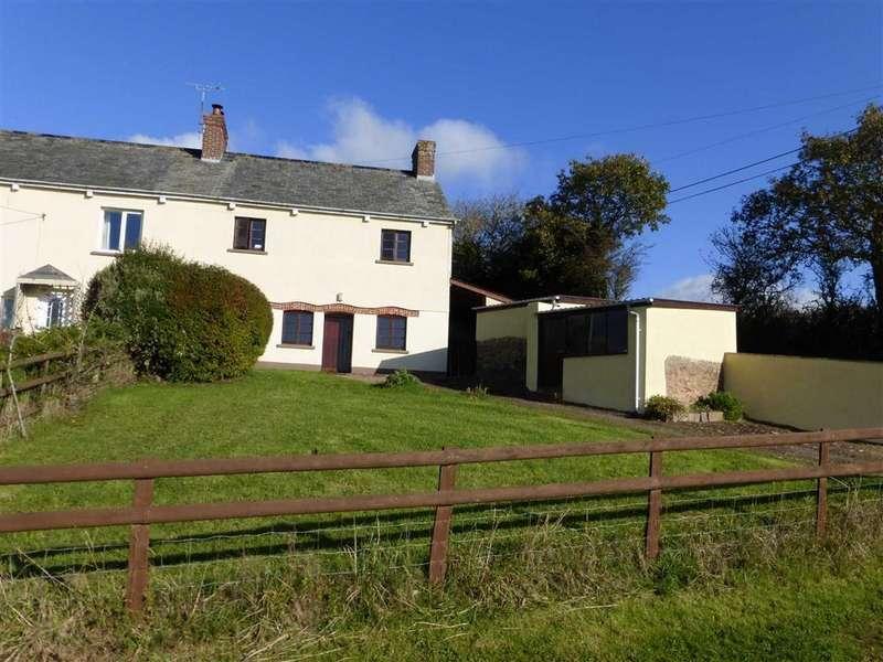 3 Bedrooms Semi Detached House for rent in Cheriton Fitzpaine, Crediton, Devon, EX17