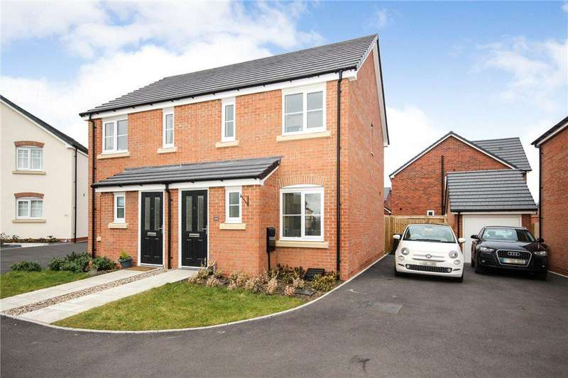 2 Bedrooms Semi Detached House for sale in Pardoe Drive, Pershore, Worcestershire, WR10