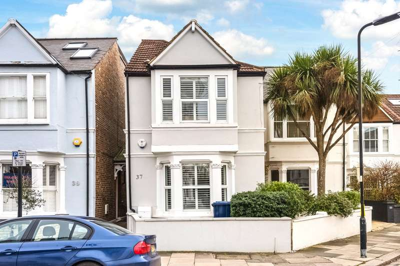 3 Bedrooms Semi Detached House for sale in Carlton Road, Chiswick, London, W4
