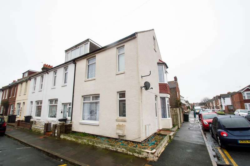 2 Bedrooms End Of Terrace House for sale in Belmore Road, Eastbourne