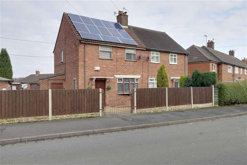 2 Bedrooms Semi Detached House for sale in Grasmere Avenue, Clayton, Newcastle-under-Lyme