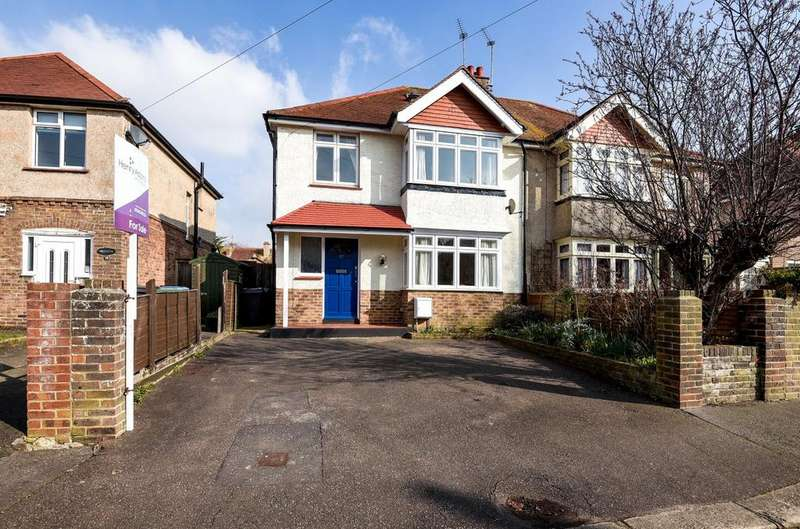 4 Bedrooms Semi Detached House for sale in Highland Avenue, Bognor Regis, PO21
