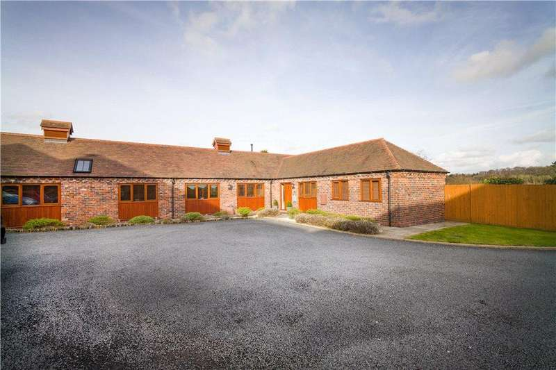 3 Bedrooms Barn Conversion Character Property for sale in Dunsley Hall Farm Barns, Dunsley Road, Kinver, Stourbridge, DY7
