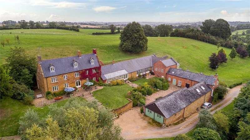 6 Bedrooms Detached House for sale in West Haddon Road, Long Buckby, Northampton, Northamptonshire