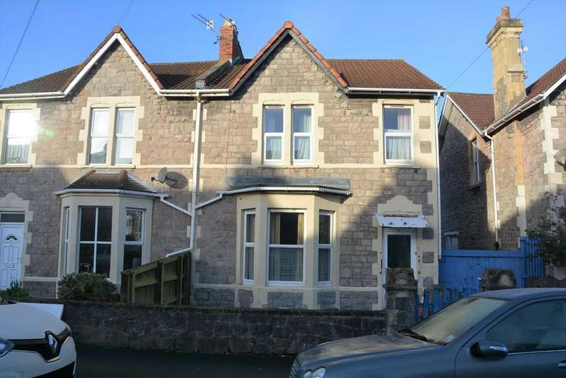 4 Bedrooms Semi Detached House for sale in Swiss Road, Weston-super-Mare