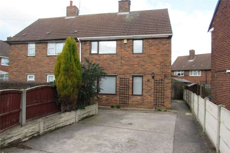 2 Bedrooms Semi Detached House for rent in Orchard Close, Shirebrook, Derbyshire, NG20