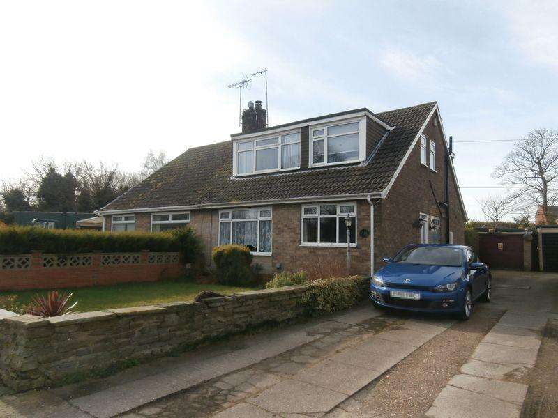 4 Bedrooms Semi Detached Bungalow for sale in Thorngumbald Road, Paull