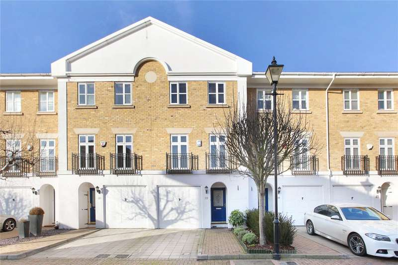 3 Bedrooms Mews House for sale in Bevin Square, London, SW17