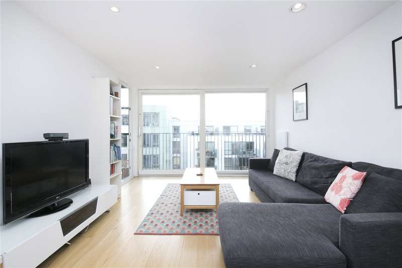 2 Bedrooms Flat for sale in Reliance Wharf, Hertford Road, N1