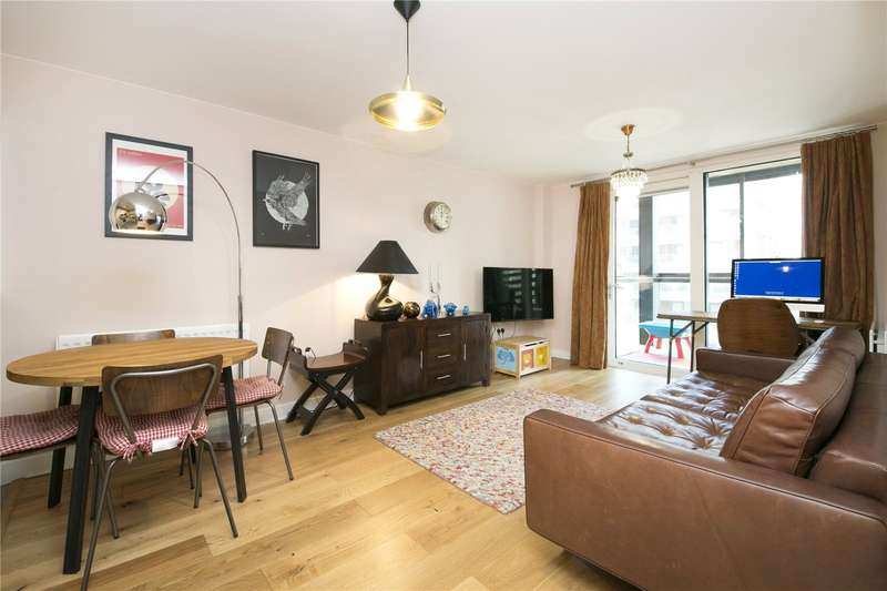 2 Bedrooms Flat for sale in Labyrinth Tower, Dalston Square, E8
