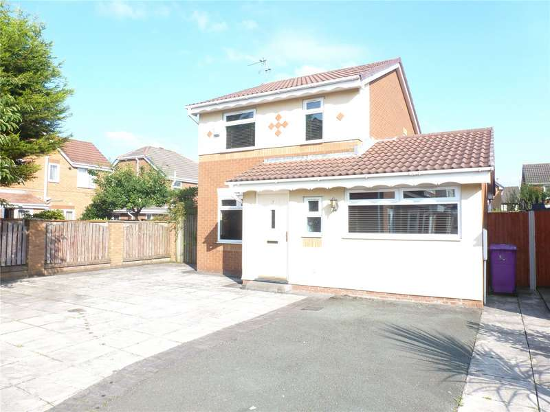 3 Bedrooms Detached House for sale in Knowle Close, Liverpool, Merseyside, L12