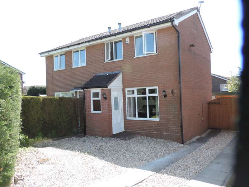 2 Bedrooms Semi Detached House for rent in 4 Chartswell Close, Werrington, ST9 0PQ