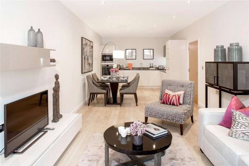 3 Bedrooms Flat for sale in Quebec Quarter,Quebec Way, London, SE16