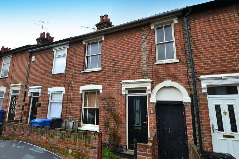 2 Bedrooms Terraced House for sale in Ann Street, Ipswich, IP1 3PD