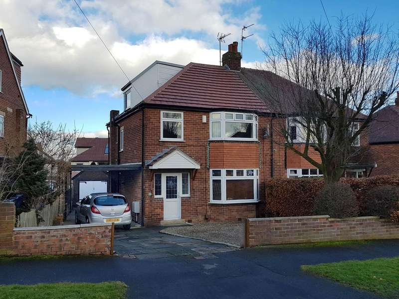 4 Bedrooms Semi Detached House for sale in Becketts Park Crescent, Headingley, Leeds 6