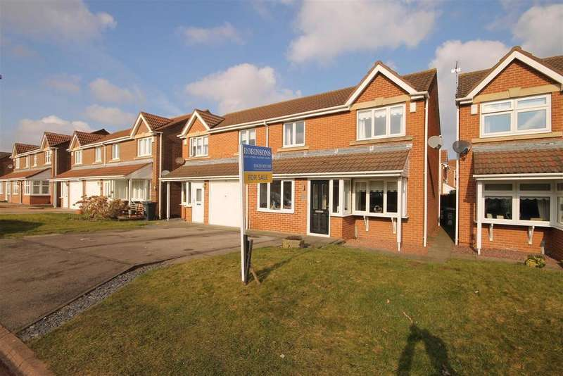 3 Bedrooms Semi Detached House for sale in Whinchat Close, Middle Warren, Hartlepool