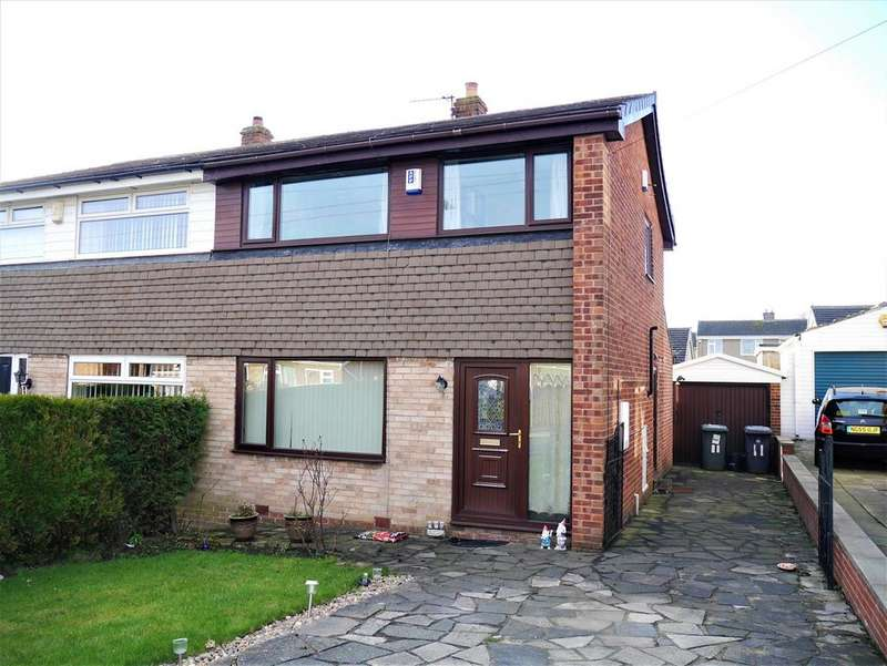 3 Bedrooms Semi Detached House for sale in Southcroft Gate, Birkenshaw, BD11 2DQ