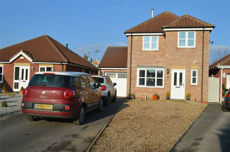 3 Bedrooms Detached House for sale in 7 Lea Close, Leven, BEVERLEY, East Riding of Yorkshire