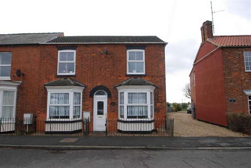2 Bedrooms Semi Detached House for sale in South Street, Swineshead, Boston