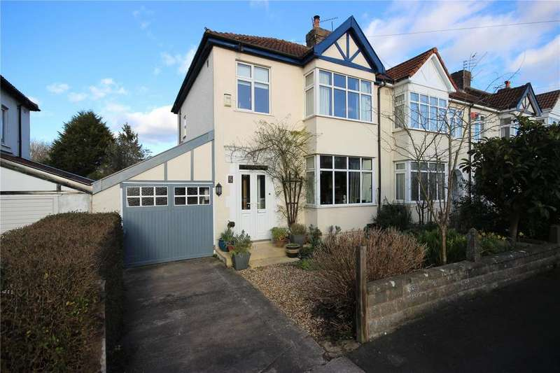 3 Bedrooms End Of Terrace House for sale in Cranham Road, Westbury-on-Trym, Bristol, BS10