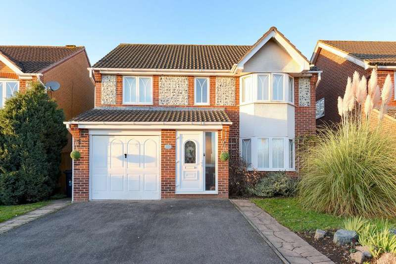 4 Bedrooms Detached House for sale in Cowslip Crescent, Thatcham, West Berkshire, RG18
