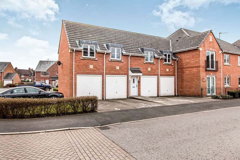 2 Bedrooms Flat for sale in Marion Drive, Mobberley, Knutsford, WA16