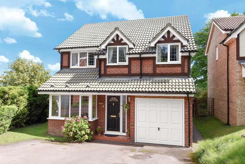 4 Bedrooms Detached House for sale in Virginia Water, Surrey, GU25