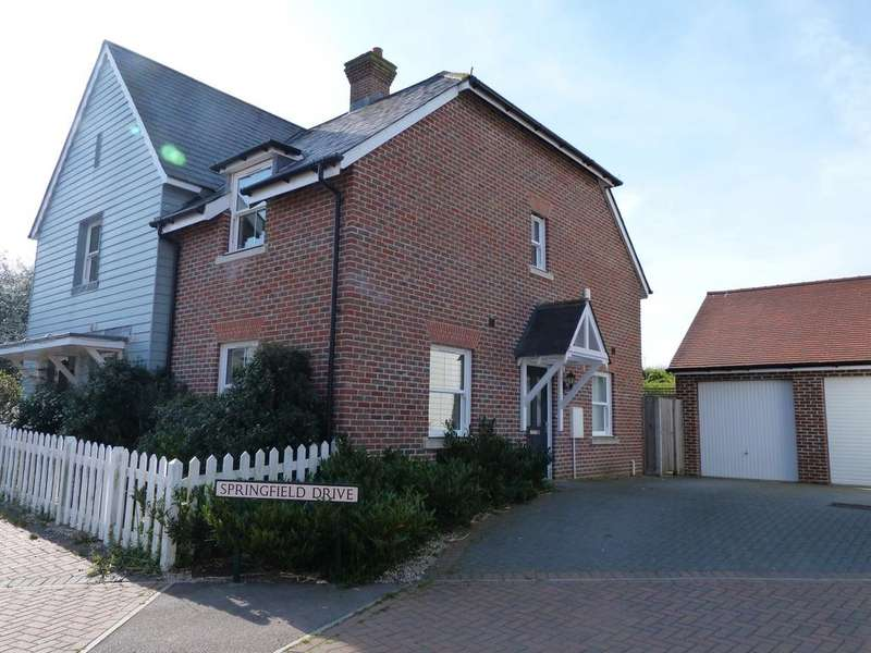 2 Bedrooms Semi Detached House for rent in Springfield Drive, Rye TN31