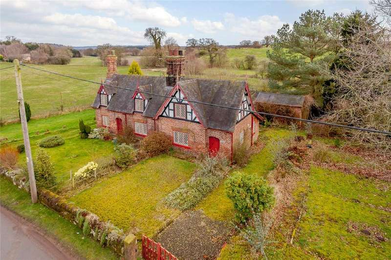 4 Bedrooms Semi Detached House for sale in Stone House Lane, Peckforton, Tarporley, Cheshire