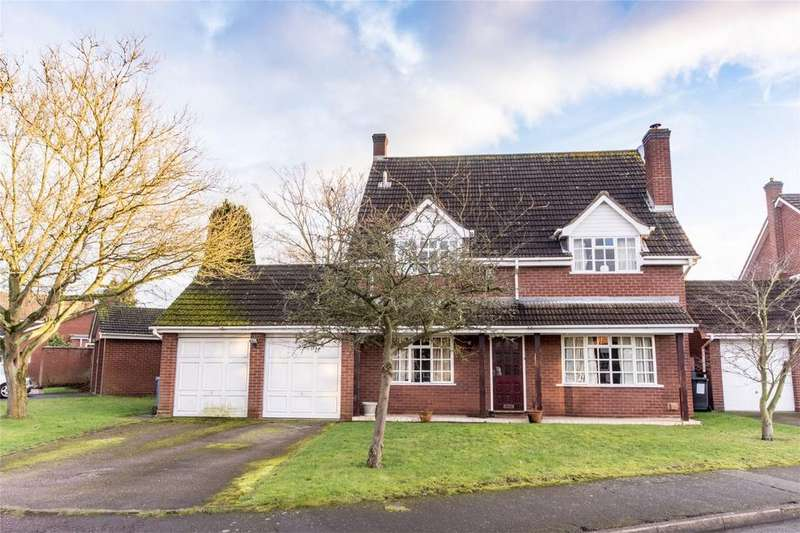 4 Bedrooms Detached House for sale in Leofric Close, Kings Bromley, Burton upon Trent, Staffordshire