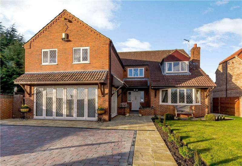 5 Bedrooms Detached House for sale in Sandland House, Rudcarr Lane, Warthill, York, YO19