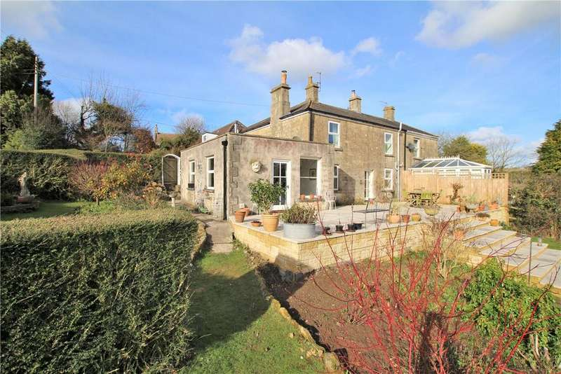 4 Bedrooms Semi Detached House for sale in Tunley Road, Dunkerton, Bath, Somerset, BA2