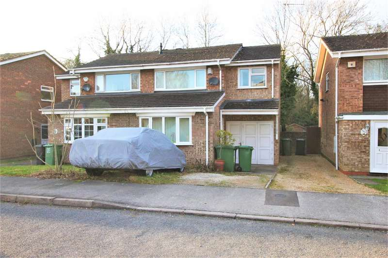 4 Bedrooms Semi Detached House for sale in Donnington Close, Church Hill, Redditch