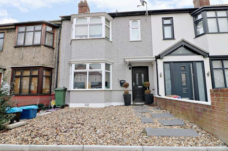 3 Bedrooms Terraced House for sale in Sherwood Road, Ilford, IG6