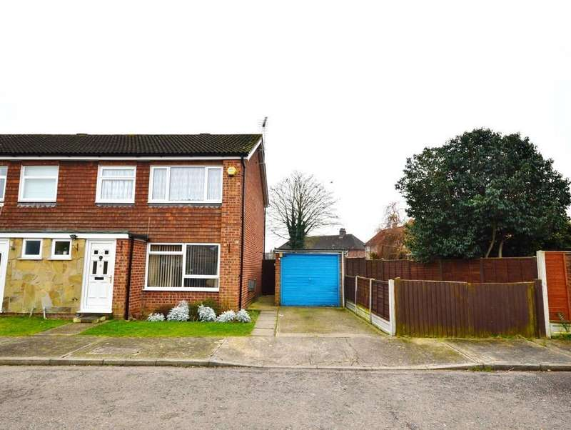 3 Bedrooms End Of Terrace House for sale in Bell Close, Colchester