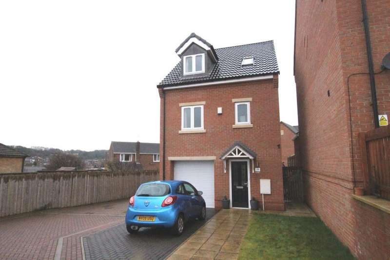 4 Bedrooms Detached House for sale in Brookroyd View, Birstall, BATLEY, West Yorkshire