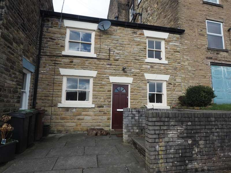 2 Bedrooms Terraced House for sale in Church View, New Mills, High Peak, Derbyshire, SK22 4AW