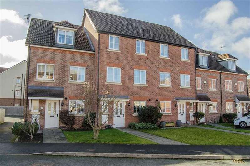 4 Bedrooms Town House for sale in Cwrt Y Terfyn, Saltney, Flintshire, Chester