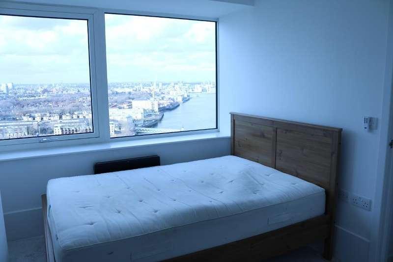 2 Bedrooms Flat for sale in Aragon Tower, Deptford, London, Deptford, SE8 3AL