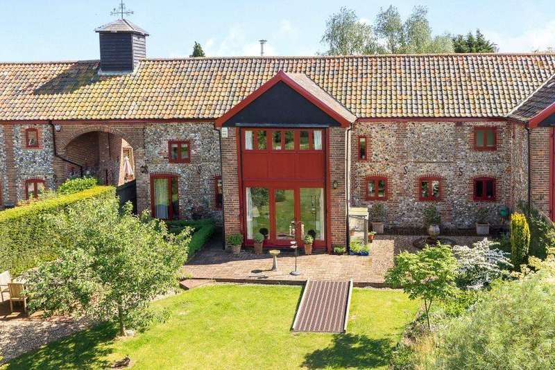 4 Bedrooms House for sale in Duffs Hill, Glemsford, Sudbury, Suffolk, CO10