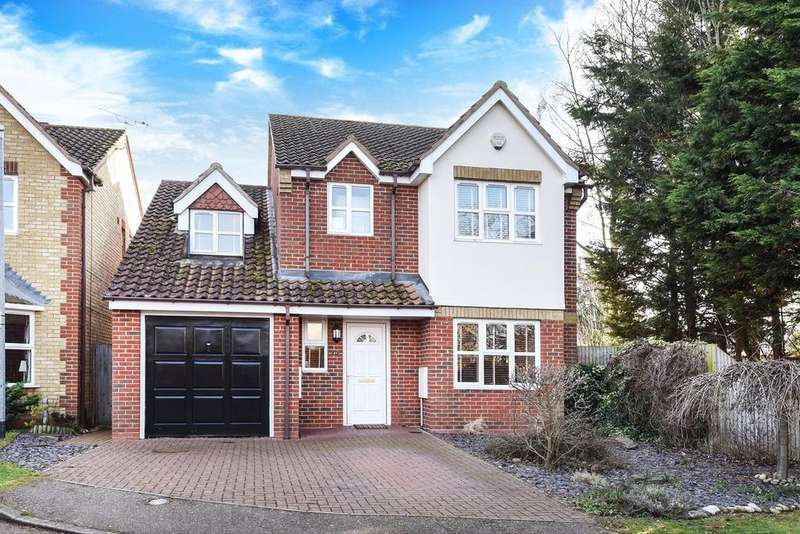 4 Bedrooms Detached House for sale in Durham Close, Flitwick, MK45