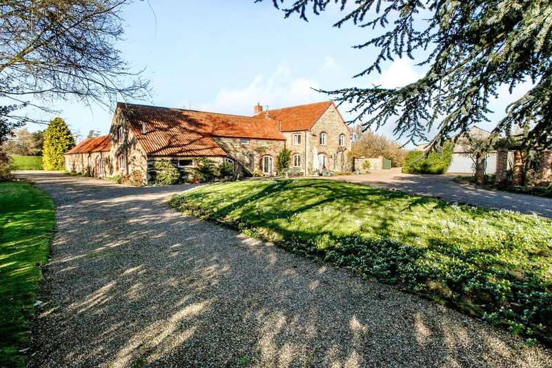 5 Bedrooms Detached House for sale in The Granary, Hough Road, Barkston, Grantham, NG32