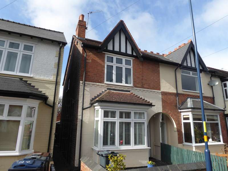 3 Bedrooms Terraced House for sale in Grosvenor Road, Harborne, Birmingham, B17 9AL