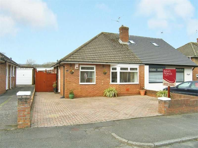 3 Bedrooms Semi Detached Bungalow for sale in The Fairway, Cyncoed, Cardiff