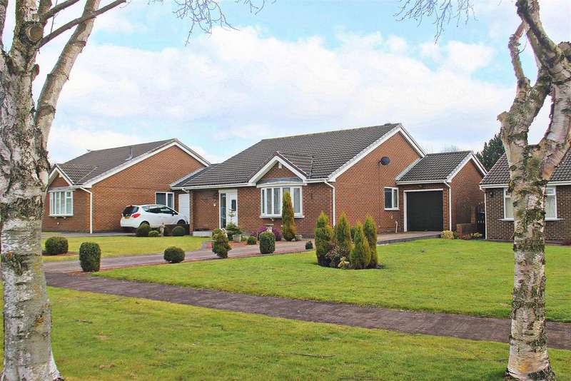 3 Bedrooms Detached Bungalow for sale in Picktree Lodge, Chester Le Street