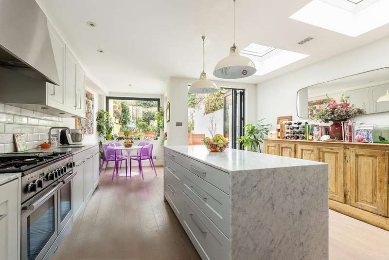 4 Bedrooms Terraced House for sale in Ceylon Road, London, W14