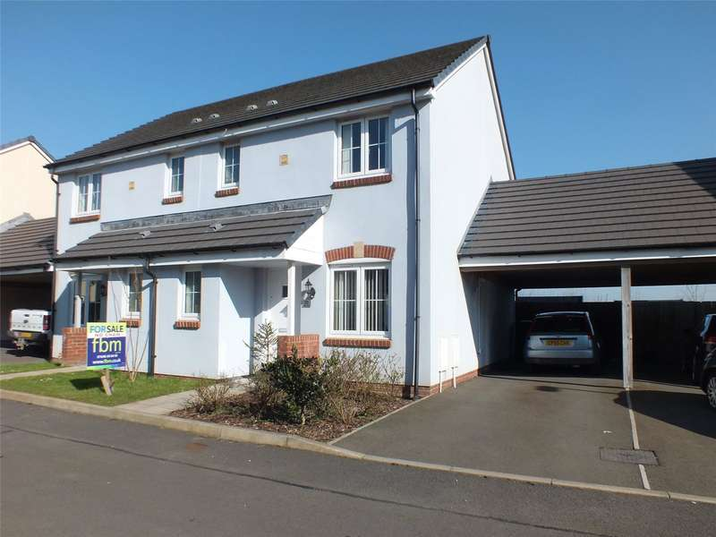 3 Bedrooms Semi Detached House for sale in Belfrey Close, Hubberston, Milford Haven