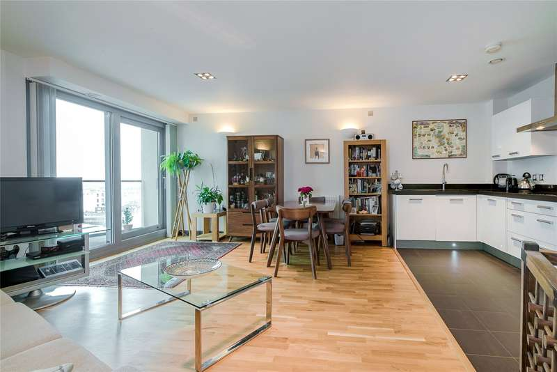 1 Bedroom Flat for sale in Orbis Wharf, Bridges Court Road, Wandswoth, London, SW11